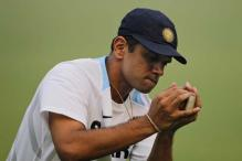 Dravid drops in to watch Karnataka Ranji game