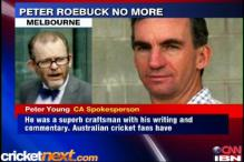 'News of Peter Roebuck's death ghastly'