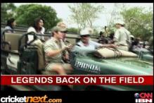 South Africa legends beat India in the wild
