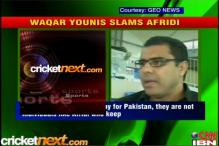 Waqar hits back at Afridi in war of words