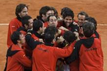 In pics: Spain win 2011 Davis Cup
