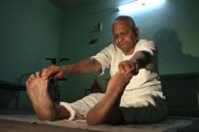 Anna Hazare's daily workout