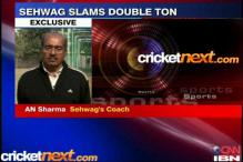 Virender Sehwag's 200 was overdue: coach
