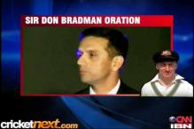 Watch/Read: Dravid's Bradman Oration