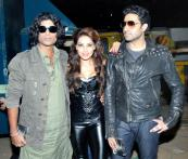 Bipasha's biking stunts at 'Players'  music launch