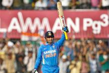 Sehwag's 219 fells many records