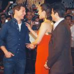 Tom Cruise bonds with Sonam, Dhanush