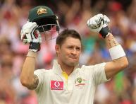 Clarke hits triple-ton against India at SCG