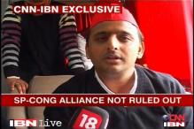 Akhilesh takes centrestage; projects a clean SP