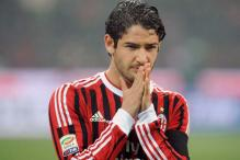 Milan striker Alexandre Pato out 3-4 weeks