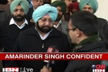 Amrinder Singh predicts Cong win in Punjab polls