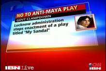 Lucknow: Play 'lampooning' Mayawati stopped