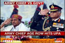 Army Chief's age row turns political