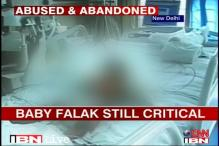 Delhi: Baby Falak continues to battle for life