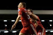 Bellamy puts Liverpool into League Cup final