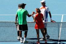 Paes in mixed doubles final, Sania-Hesh ousted