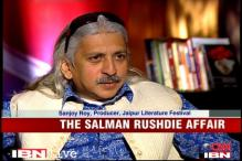 Police stood by us on Rushdie: JLF Organiser