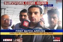 Italy ship disaster: Rescued Indians return home