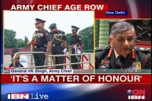 Age row: Army chief hits out at detractors