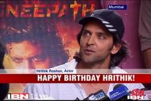 Hrithik Roshan's 38th birthday celebrations