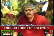 Man researches to ensure food for millions