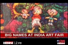 India Art Fair: Hussian, Raza, Subodh Gupta's work on display