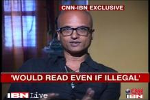 Not illegal if I read from Rushdie's book: Jeet Thayil