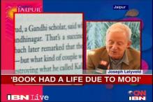 Joseph Lelyveld on his controversial book on Gandhi