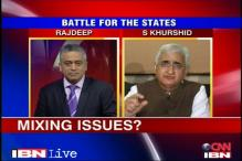 Muslim quota is in our manifesto, says Khurshid
