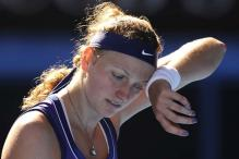 Kvitova looking to rebound from tough loss