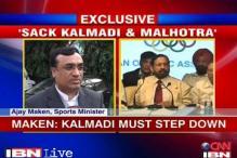 Kalmadi should step down as IOA chief: Maken