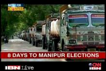 Will the blockade shadow affect Manipur polls?