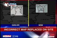 US acknowledges 'goof up' in its India maps