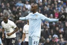 Balotelli gives Man City 3-2 win over Spurs