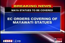 UP Polls: EC orders to cover Mayawati's statues