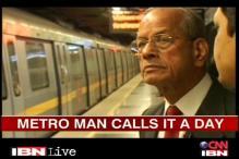 DMRC chief Sreedharan's metro stint ends