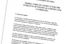 Full text: Election Commission's Model Code of Conduct