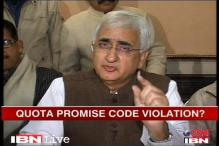 Newsmaker of the day: Salman Khurshid