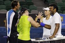 Paes-Vesnina lose Aus Open mixed doubles final