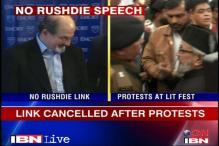 Rushdie link cancellation not a govt decision: Raj Home Secy