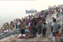 Devotees take a holy dip in Arunachal kund