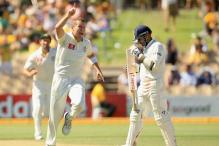 Indian batting falters after Aus 604