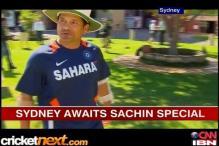 Sydey awaits Sachin's landmark ton