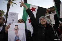Syrian troops fight rebels near Damascus