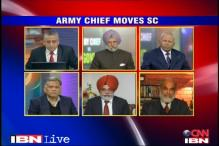 Is the army chief justified in taking the age row to SC?
