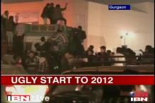 Ugly start to 2012 in Gurgaon