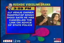 Rushdie video cancellation: How the day unfolded
