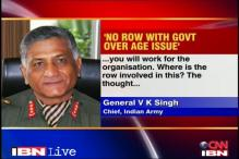 Have no axe to grind with govt: Gen VK Singh