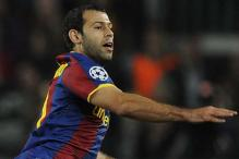 Mascherano sent off after Barcelona defeat
