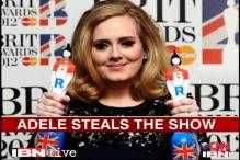 Adele steals the show at Brit Awards